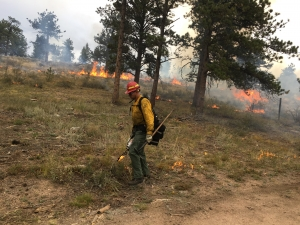 Prescribed Burn at the Boy Scout Ranch